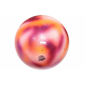 Míč SASAKI M-207VE oranžovo-růžovo-stříbrná