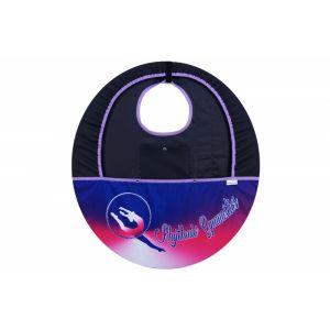 Obal na obruč MERINO s kapsou - fialová, růžová, bílá