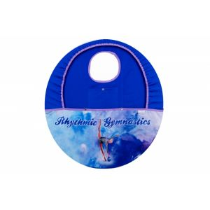 Obal na obruč MERINO s kapsou modrý (míč)