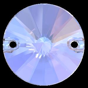 Kamínky PRECIOSA RIVOLI 2D crystal AB 14mm