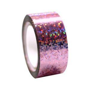 Izolepa DIAMOND Metallic svítivě růžová
