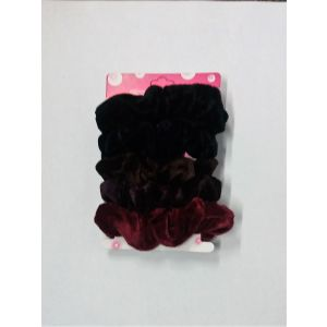 Gumičky do vlasů mix barev (nejtmavší)