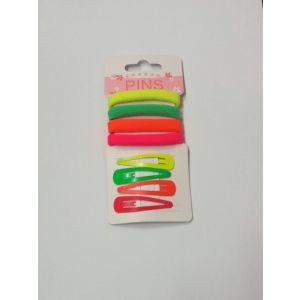 Sponky+gumičky do vlasů (barevné)