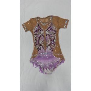 Trikot fialový krátký rukáv