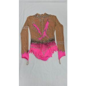 Trikot růžový dlouhý rukáv