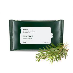 A'PIEU Nonco Tea Tree Toner Tissue – Pleťové ubrousky s obsahem bylinného toneru