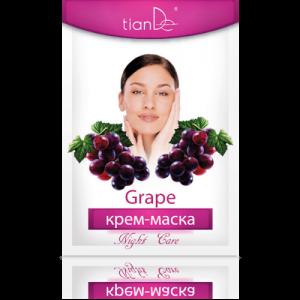 TIANDE Pleťová maska Hroznové víno