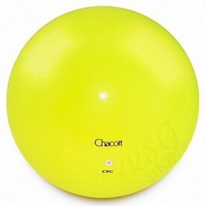 CHACOTT míč 150 mm 062 Lemon Yelow