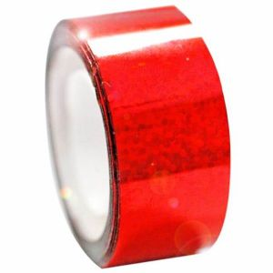 Izolepa DIAMOND Metalic červená