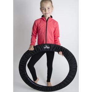 Obal na obaruč GARE černý malý s gymnastkou