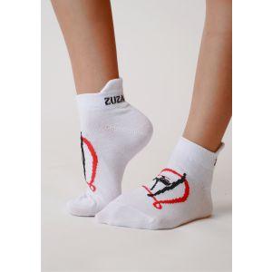 Ponožky bílé gymnatka