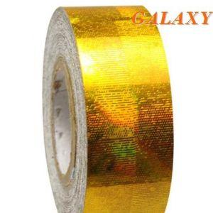 Izolepa GALAXY Metalic žlutá
