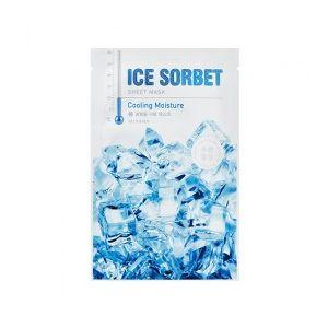 MISSHA Ice Sorbet Sheet Mask (Cooling Moisture) – hydratační pleťová maska s chladivým efe