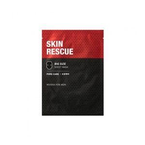 MISSHA For Men Skin Rescue Sheet Mask (Pore Care) - jednorázová maska pečující o póry pro