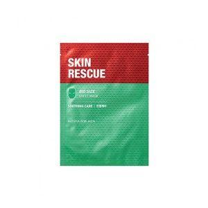 MISSHA For Men Skin Rescue Sheet Mask (Soothing Care) - jednor. zklidňující maska pro muže