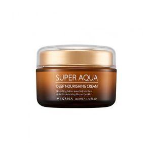 MISSHA Super Aqua Ultra Waterful Deep Nourishing Cream - vyživující a hydratační pleťový k