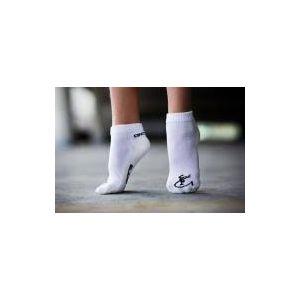 Ponožky GARE bílé s gymnastkou