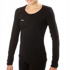 Tričko DVILLENA černé dlouhý rukáv