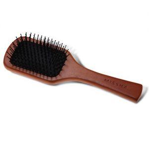 MISSHA Wooden Cushion Hair Brush (Medium) - antistatický kartáč na vlasy