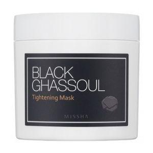 MISSHA Black Ghassoul Tightening Mask- smývatelná čistící maska na stažení pórů