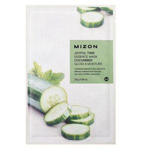 MIZON Joyful Time Essence Mask (Cucumber) - jednorázová pleťová maska s extraktem okurky