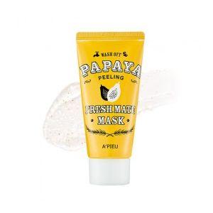 A'PIEU Fresh Mate Papaya Mask (Peeling) - peelingová pleťová maska
