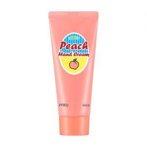 A'PIEU Peach Hand Cream - krém na ruce s extraktem broskví