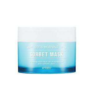 A'PIEU Good Morning Sorbet Mask - hydratační a zklidňující denní maska