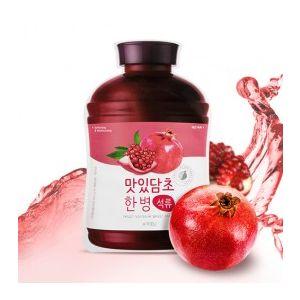 A'PIEU Fruit Vinegar Sheet Mask (Pomegranate) - jednorázová zpevňující pleťová maska