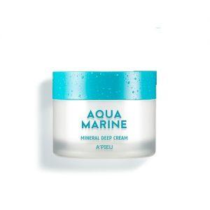 A'PIEU Aqua Marine Mineral Deep Cream - hydratační minerální pleťový krém
