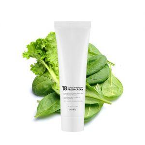 A'PIEU 18 Fresh Cream (For Oily and Combination Skin) - hydratační pleťový krém pro mastno
