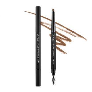 A'PIEU Edge Brow Pencil (Medium Brown) - tužka na obočí hnědá