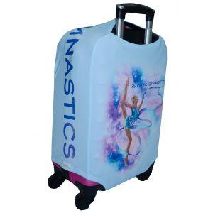 Obal na kufr MERINO světle modrý