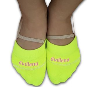 Ťapky DVILLENA ponožkové žluté