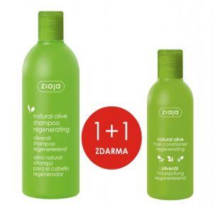 ZIAJA Oliva regenerační šampon 400ml + Oliva kondicioner 200ml