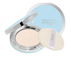MISSHA The Style Fitting Wear Sebum Cut Pressed Powder (No.2/Clear Peach) - pudr